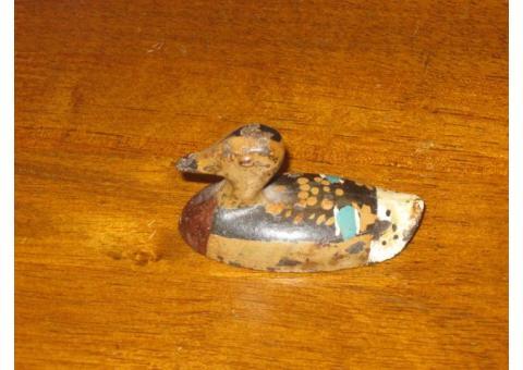 Cast Iron miniature duck.