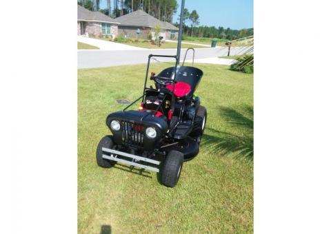 Brand new 'Rat Rod' style modified Lawn tractor! One of a kind!