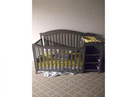 Berkley crib and changing table