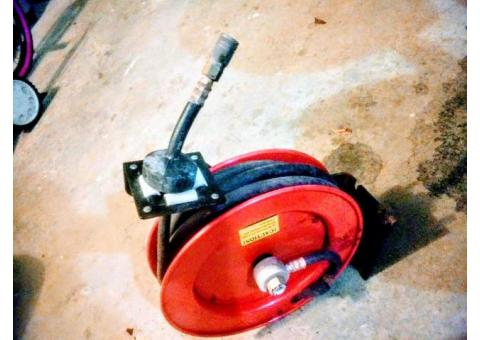 750 ft MRS hose and reel .. $200.00