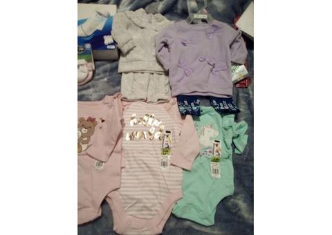 All new girls newborn clothes