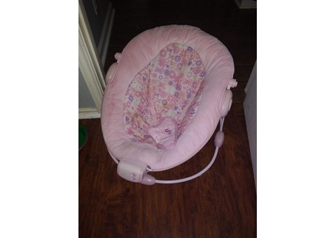 Pink Bouncy Baby Seat