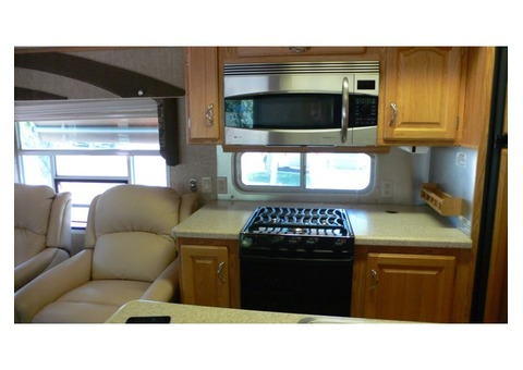 2007, Alpha Gold, 37 foot 5th wheel