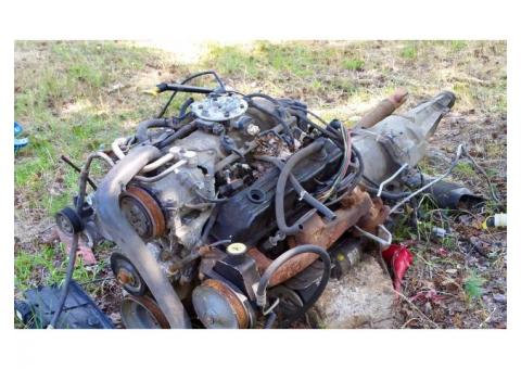 Magnum 360 Engine and Transmission