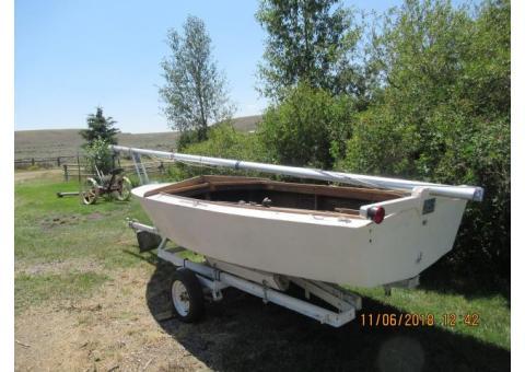 14 ft Sailboat